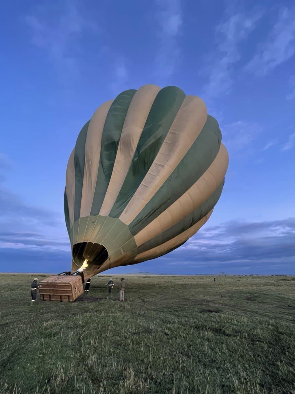 Hot air balloon Safari, Tanzania